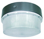 LED round canopy light fixture - 15 watt