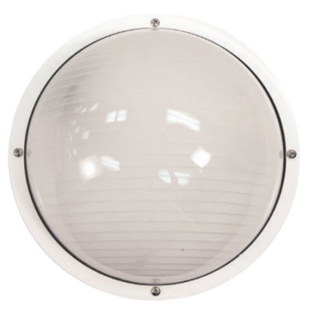 Led Round Ribbed Wall Mount Light Fixture