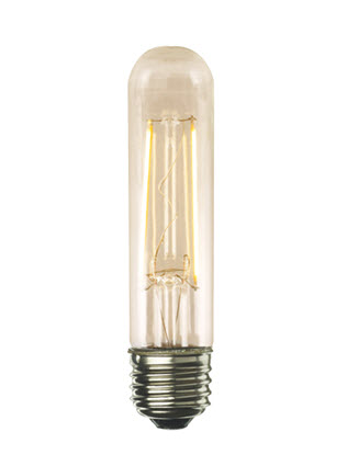 LED T10 filament light bulbs