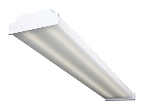 LED wraparound 4-lamp light fixture - 3500K