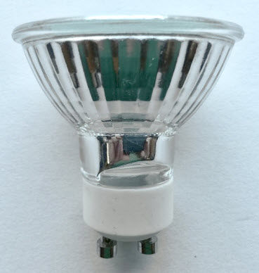 BAB MR16 GU10 halogen flood light bulbs.