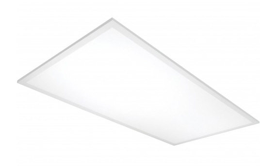 Morris premium LED flat panel 2x4 grid commercial light fixture 10-packs - 3000K