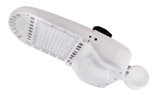 Morris LED Area Light Fixture - 150 Watt - White - Type III - 4000K