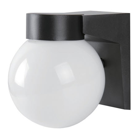 Morris LED globe entryway lights - 9 watt