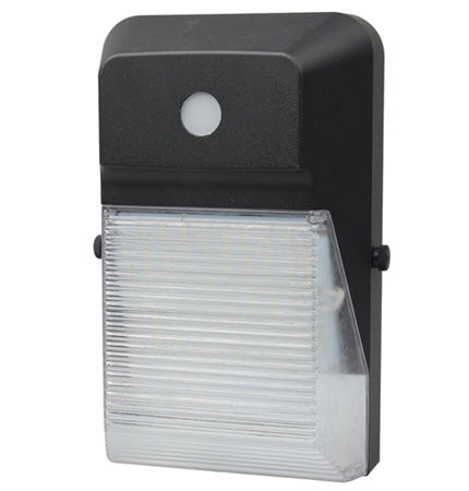 Morris LED mini wall pack outdoor light fixture - 18 watt