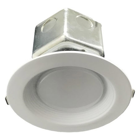 Morris LED new construction recessed light fixture - 4 inch