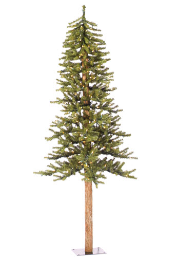 5' Natural Alpine Artifical Christmas tree - 150 Light Count 475 Tip Count