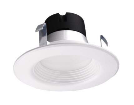 Nuvo 4-Inch LED Downlight Retrofit with Adjustable Color Settings