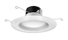 Nuvo LED White Recessed Downlight Retrofit Kit - 5 to 6 Inch - 2700K