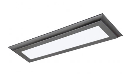 Nuvo LED 4 foot surface mount light fixture 3000K