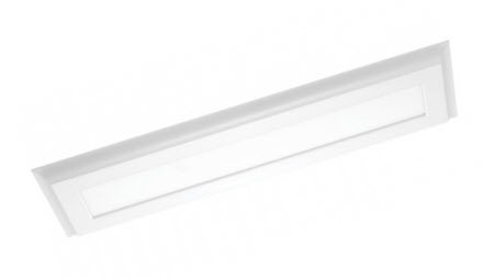Nuvo LED 4 foot surface mount light fixture 4000K white