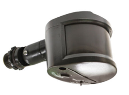 Passive infrared outdoor sensor - bronze 500 watt