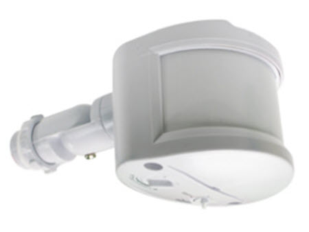 Passive infrared outdoor sensor - white