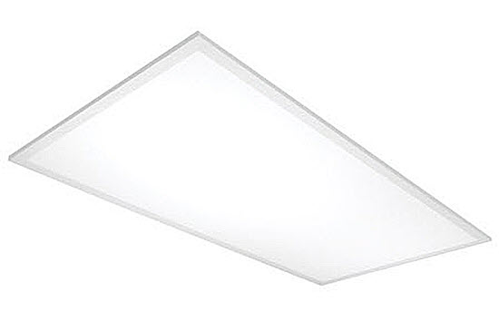 Satco 2'x4' LED flat panel troffer commercial lite fixture 10-packs - 4000K