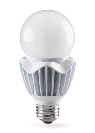 LED high lumen A21 light bulbs are a daylight white 5000K color
