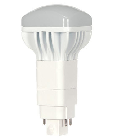 Satco LED / CFL long vertical replacement bulbs - 3500K