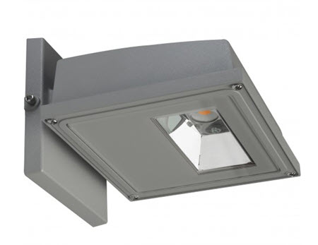 Satco led square small wall pack light fixtures 11 watt gray satco led square small wall pack light fixture 11 watt gray aloadofball Image collections