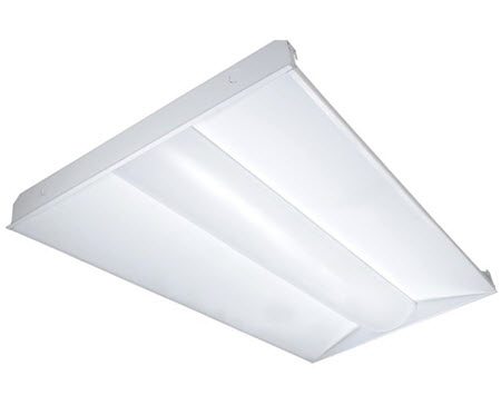Satco LED 2'x4' troffer lite fixture 10-packs - 65 watt