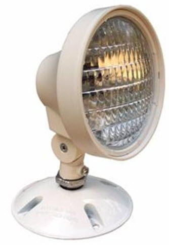 Single Head Remote Weatherproof  Emergency Light
