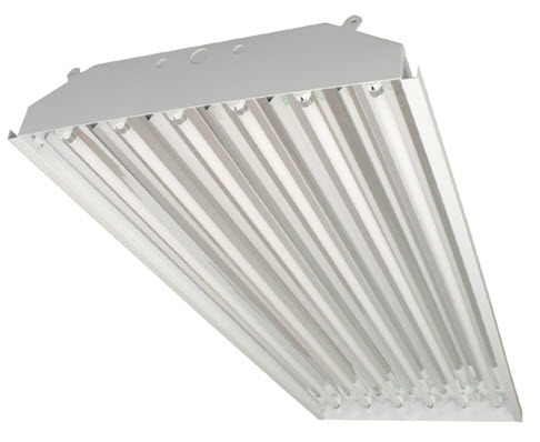 T5 high bay fluorescent light fixture - 6 lamp - Shop great prices ...