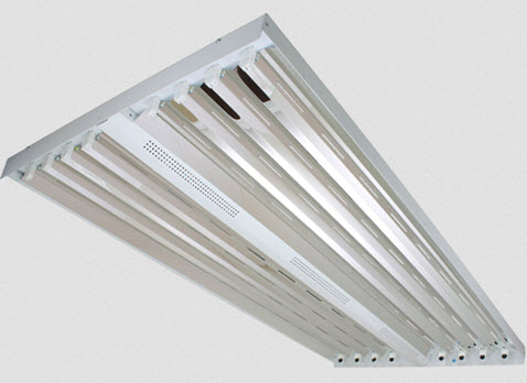 8 lamp T5 high bay fluorescent light fixtures - Shop great prices ...