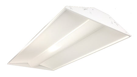 Techbrite LED 2X4 center basket light fixtures - 39 watt - 5000K