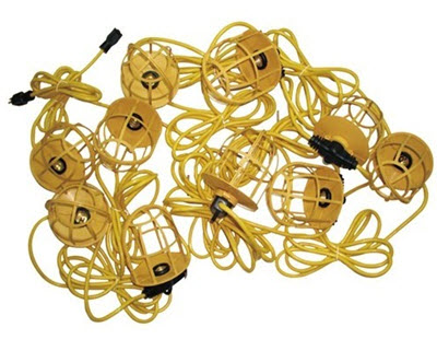 Construction String Lights Impressive Temporary Construction Light Strings Shop Great Prices And Selection
