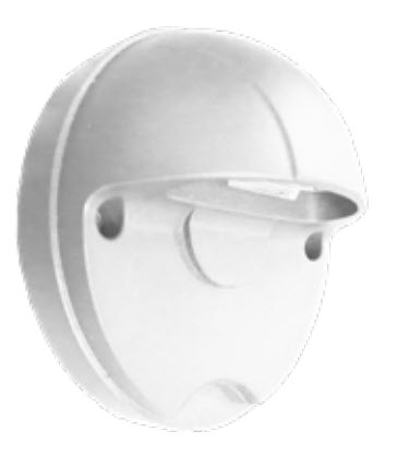 Westgate LED round step light fixture 5000K in white
