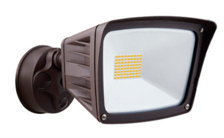 Westgate LED security flood lighting fixture with 40 watts.
