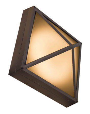 Westgate LED surface lantern light fixture 4000K
